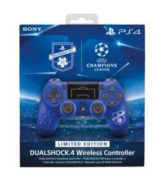 "Sony DualShock 4 Limited Edition ""PlayStation F.C."" Gamepad PlayStation 4 Schwarz, Blau (Schwarz, Blau)"