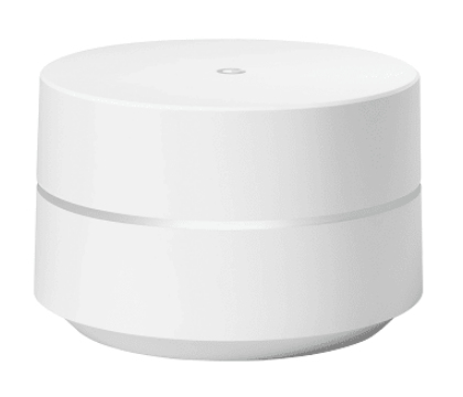 Google WiFi Dual-Band (2,4 GHz/5 GHz) Gigabit Ethernet Weiß WLAN-Router (Weiß)