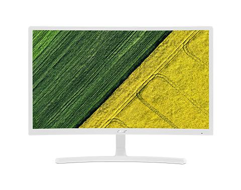 Acer ED242QR 23.6Zoll Full HD VA Matt Weiß Gebogen Computerbildschirm (Weiß)