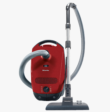 Miele Classic C1 EcoLine Zylinder-Vakuum 4.5l 550W A+ Rot (Rot)