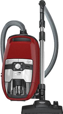 Miele Blizzard CX1 Red PowerLine - SKRF3 2 l Zylinder-Vakuum Trocken 890 W Beutellos (Grau, Rot)