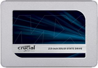 "Crucial MX500 250GB 2.5"" Serial ATA II (Silber)"