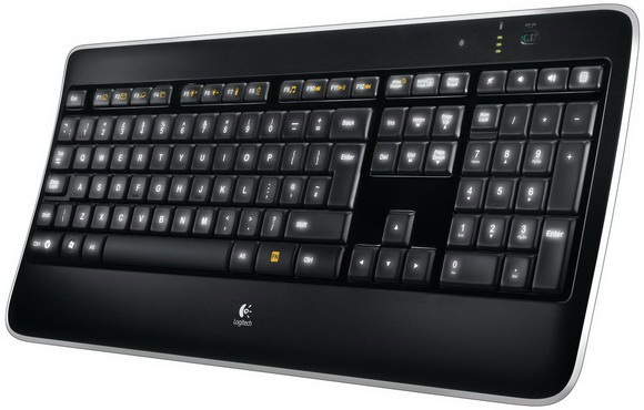 Logitech K800 (Schwarz)
