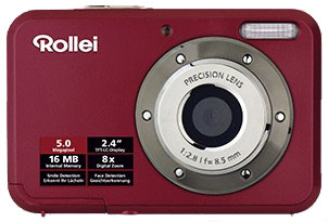 Rollei Compactline 52 (Rot)
