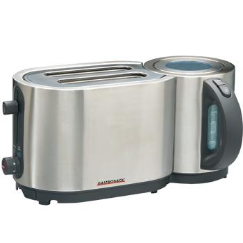 Gastroback 42408 Toaster (Silber)