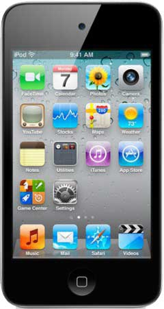 Apple iPod touch 8GB iPod touch (Schwarz, Silber)