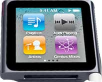 Apple iPod nano 8GB iPod nano (Schwarz)