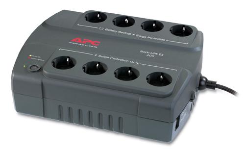 APC Back-UPS 400, DE (Charcoal)