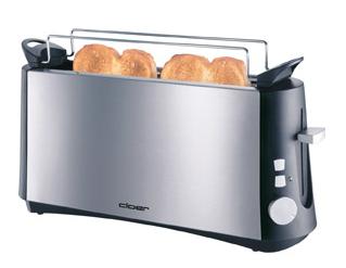 Cloer 3810 Toaster (Edelstahl)