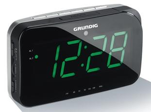 Grundig Sonoclock 490 (Schwarz, Grau)