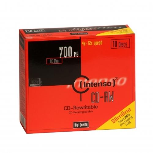 Intenso CD-RW 700MB / 80min, 12x