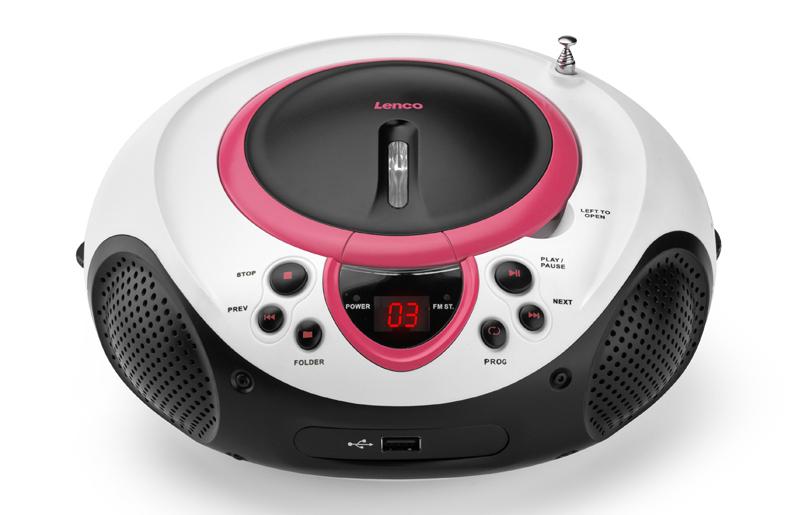 Lenco SCD-38 USB (Pink)