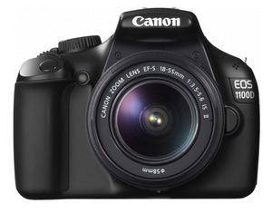 Canon EOS 1100D + EF-S 18-55 IS II (Schwarz)