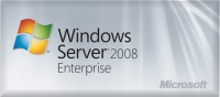 Microsoft Windows Server 2008 R2 Enterprise, SP1, x64, DVD, 1pk, 1-8CPU, 25 CAL, OEM, DEU