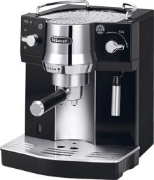 DeLonghi EC 820.B Kaffeemaschine (Schwarz, Edelstahl)