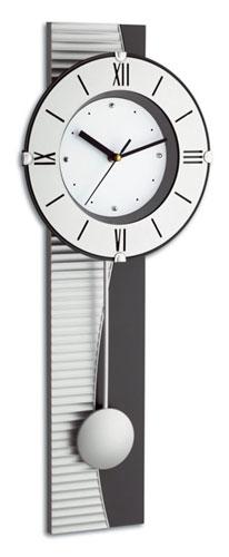TFA 60.3001 Wanduhr (Silber)