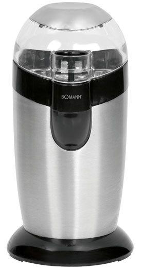 Bomann KSW 445 CB (Schwarz, Edelstahl)