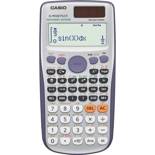 Casio FX-991DE Plus (Grau)
