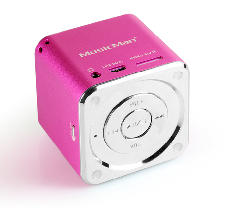Technaxx Mini Musicman (Pink)