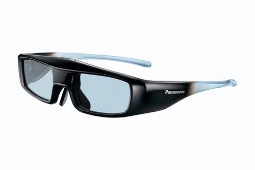 Panasonic TY-EW3D3ME stereoscopische 3D-brille/Fernglas (Schwarz, Blau)