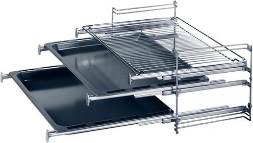 Siemens HZ338357 Küchen- & Haushaltswaren-Zubehör (Schwarz, Edelstahl)