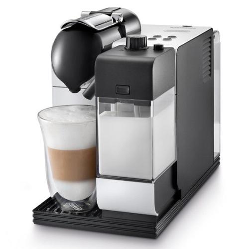 DeLonghi EN 520.W Kaffeemaschine (Aluminium, Schwarz)