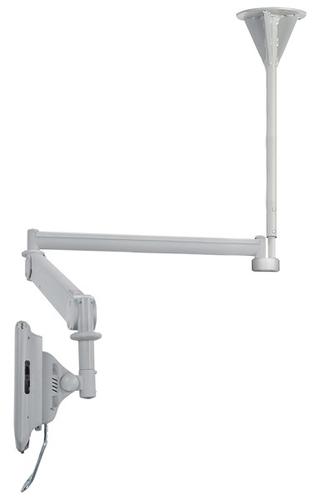 Newstar FPMA-HAC100HC Flat Panel-Deckenhalter (Grau)
