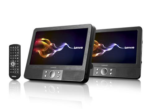 Lenco MES-403 portabler DVD/Blu-Ray-Player (Schwarz)