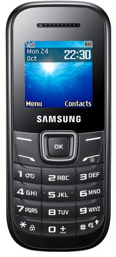 Samsung E1200 (Schwarz)