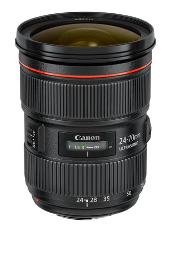 Canon EF 24-70mm f/2.8L II USM (Schwarz)