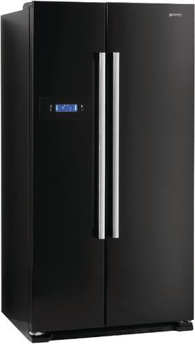 Amerikanische kühlschränke schwarz  Gorenje NRS85728BK Side-by-Side-Kühlschrank (Schwarz) in Dresden ...