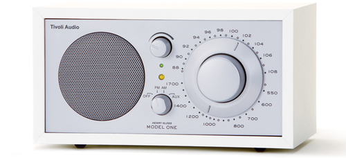Tivoli Audio Model One (Silber, Weiß)