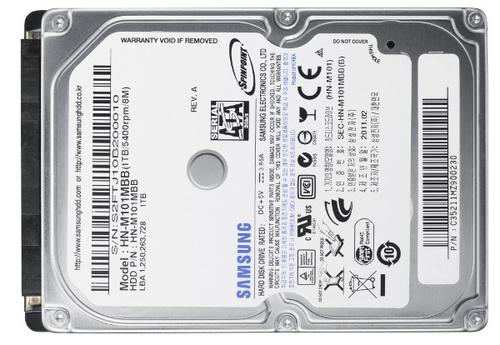 """Samsung Spinpoint M 1TB 2.5"""" SATA"""