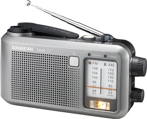 Sangean MMR-77 Radio (Schwarz, Silber)