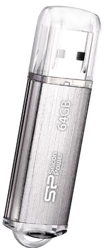 Silicon Power Ultima II-I 64GB 64GB USB 2.0 Silber USB-Stick (Silber)