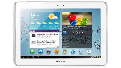 Samsung Galaxy Tab 2 10.1 (Weiß)