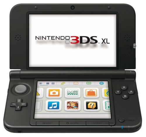 Nintendo 3DS XL (Schwarz, Silber)