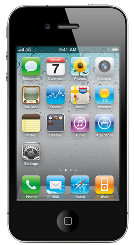 Apple iPhone 4 8GB (Schwarz)