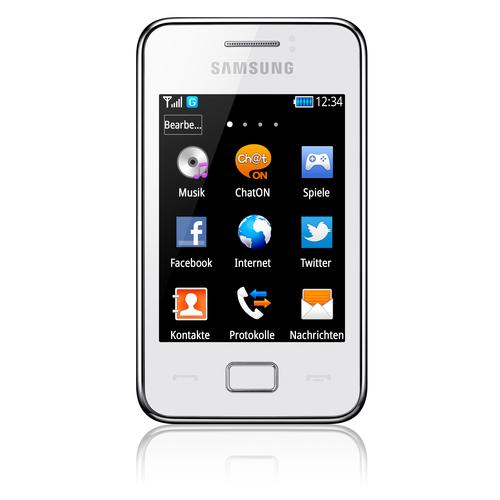Samsung Star 3 (Weiß)