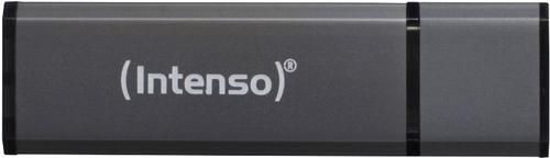 Intenso Alu Line USB2.0 64GB 64GB USB 2.0 Anthrazit USB-Stick (Anthrazit)