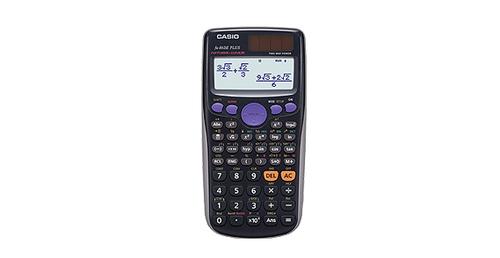 Casio FX 86DE PLUS Taschenrechner (Schwarz)