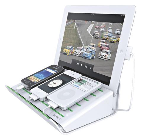 Leitz 62640001 Ladegeräte für Mobilgerät (Weiß)