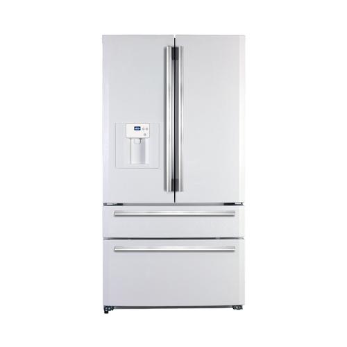 Amerikanische kühlschränke weiß  Haier HB21-FWRSSAA Side-by-Side-Kühlschrank (Edelstahl) in ...