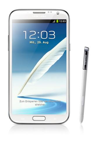 Samsung Galaxy Note II GT-N7100 (Weiß)