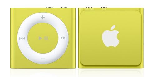 Apple iPod shuffle 2GB (Gelb)