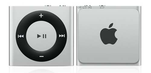 Apple iPod shuffle 2GB (Silber)
