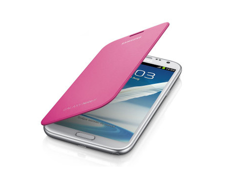 Samsung Flip Cover (Pink)