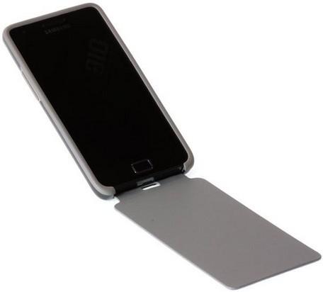 Samsung EF-C1A2BGEC Tasche für Mobilgeräte (Grau)