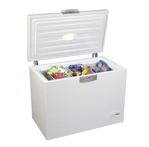 Beko HSA 24530 Gefriermaschine (Weiß)