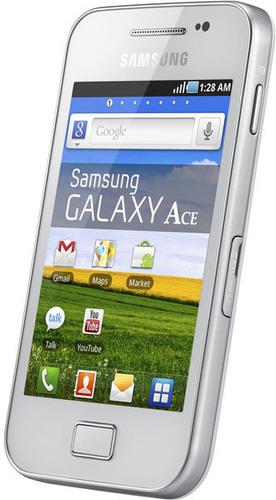 Samsung Galaxy Ace GT-S5830 0.158GB Weiß (Weiß)